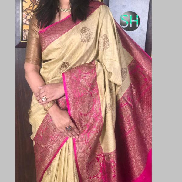 Banarasi-Silk--Dhupian-brow