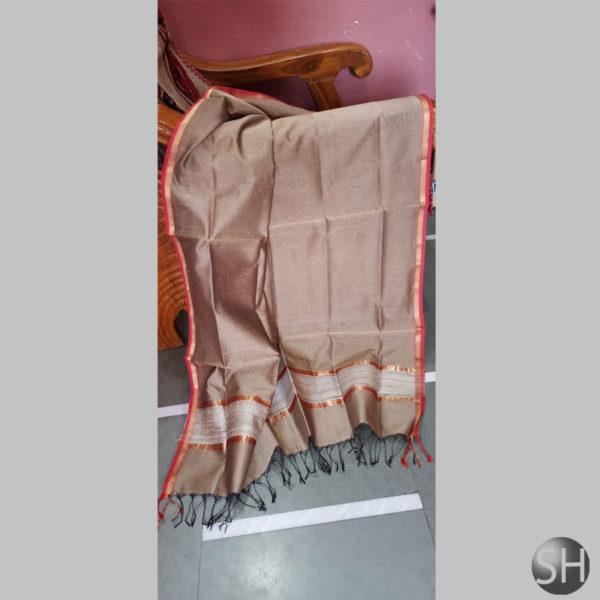 Maheshwari-jute-brown