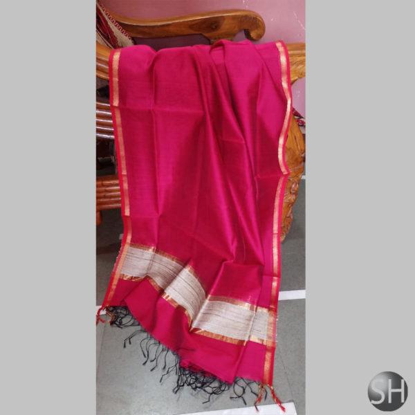 Maheshwari-jute-pink