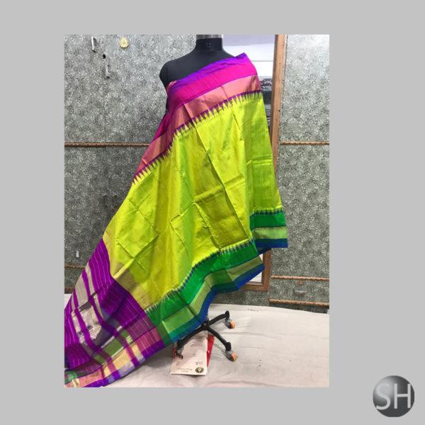 Silk-Ikkat-multicolour
