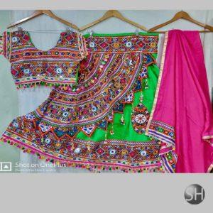 Navratri Ghoomer Style Chaniya Choli