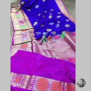 Banaras handloom katan Silk Sona Sarees