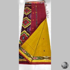 Pochampally Handloom Cotton thread buta