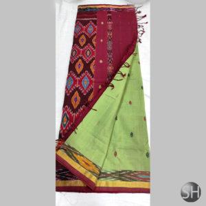 Pochampally Handloom Cotton thread buta #6