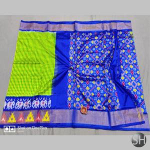 Pure Ikkat Silk Sarees with blouse #11