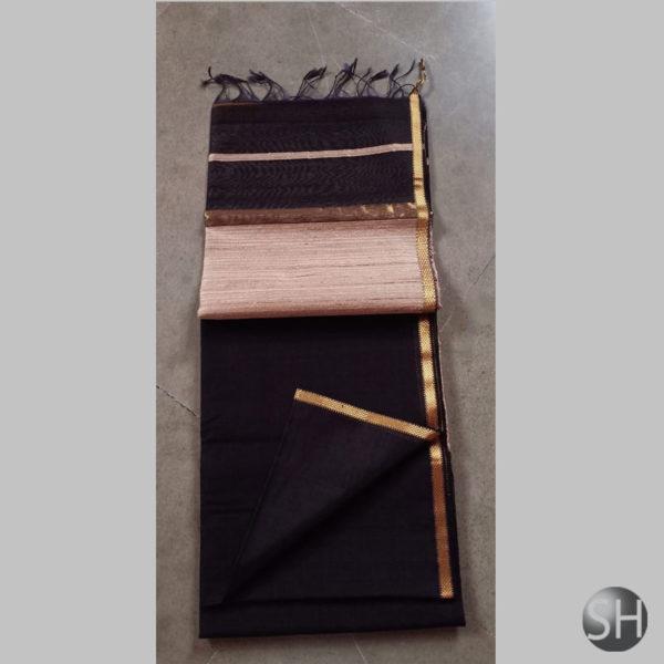 black-1Maheshwari-silk-with