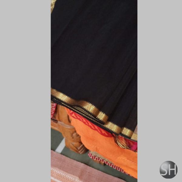 black-Maheshwari-silk-with-