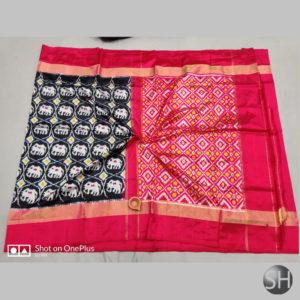 Pure Ikkat Silk Sarees with blouse