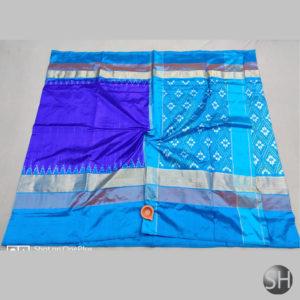 Pure Ikkat Silk Sarees with blouse #3