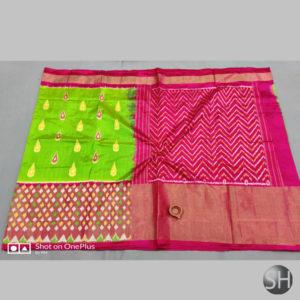Pure Ikkat Silk Sarees with blouse #14