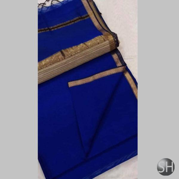 royal-blue-Maheshwari-silk-