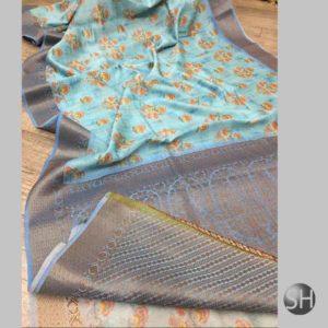 Banaras Handloom Pure Cotton Sarees