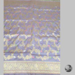 Banaras handloom katan