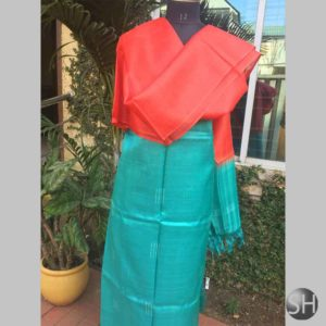 Tussar Silk Suit Material #3