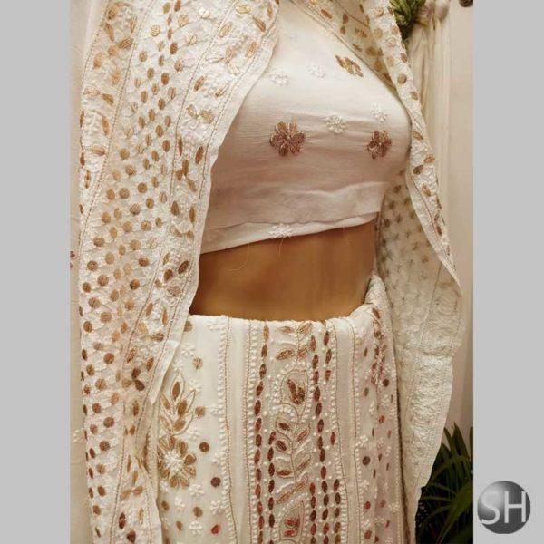 Pure-Gorget-leghanga-set--with-very-fine-chikankari--white1