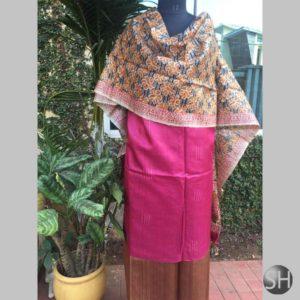 Tussar Silk Suit Material