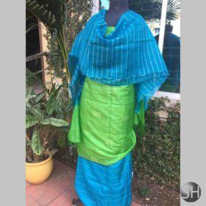 Tussar Silk Suit Material #2