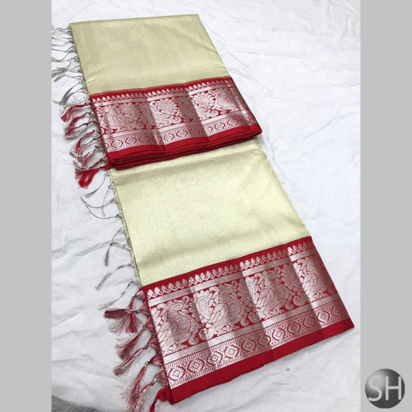 Tissue-saree-with-kuttu-border-white-1