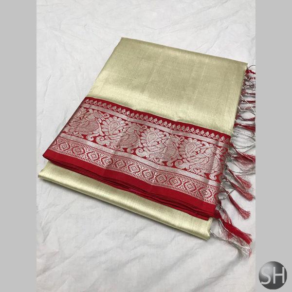 Tissue-saree-with-kuttu-border-white-3