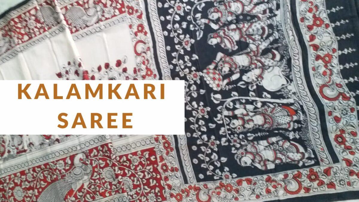 Read more about the article Kalamkari Sarees
