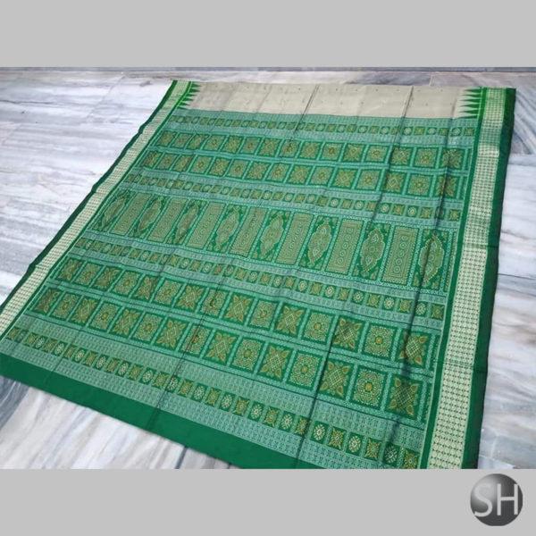 kkat-Bomkai-Silk-Saree-green2