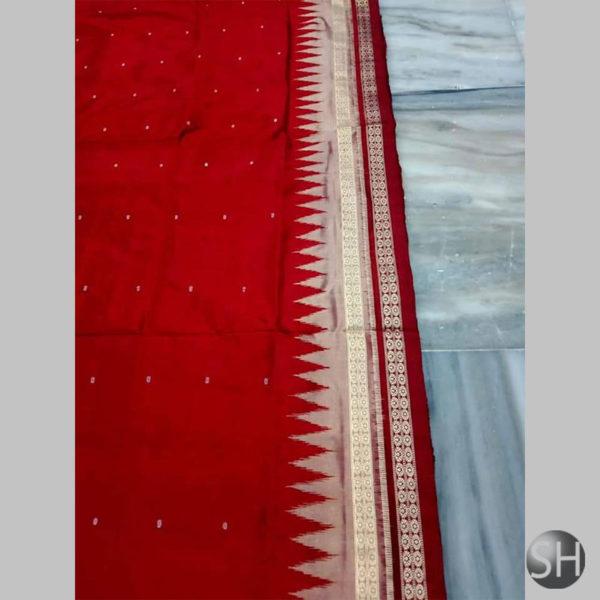 Ikkat-Bomkai-Silk-Saree-red2