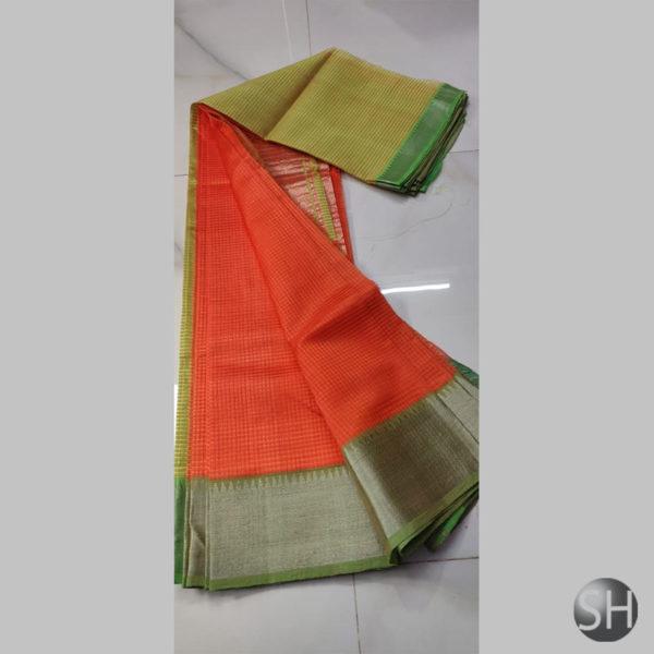 mangalgiri-handloom-saree-Persian-Red