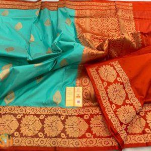 Banaras Pure Katan Silk Sarees -#2