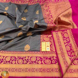 Banaras Pure Katan Silk Sarees -#3