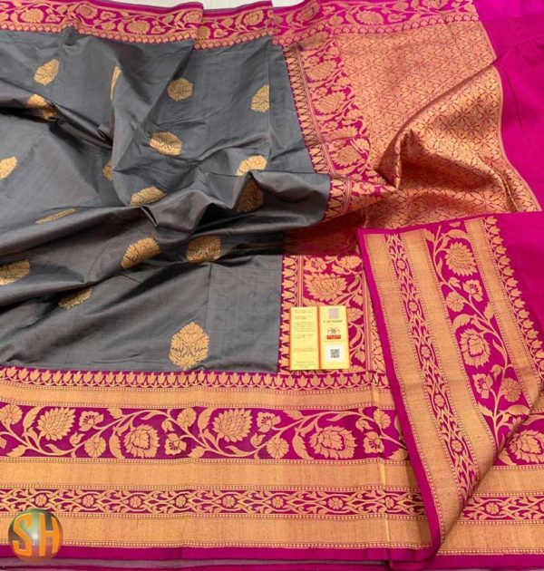 Banaras pure katan silk sarees