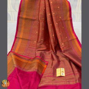Handwoven Banarasi Pure Katan Silk Sarees