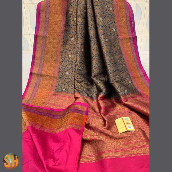 Handwoven-Banarasi-Pure-Katan-Silk-Sarees
