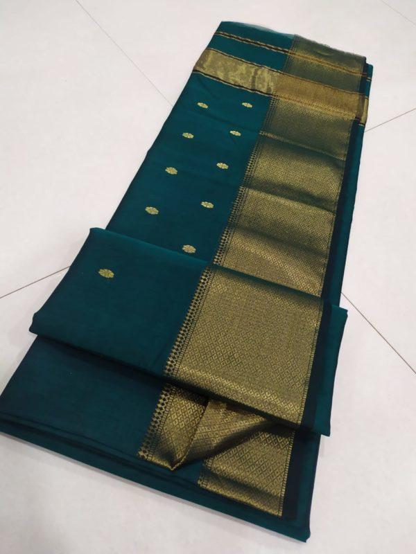 Maheshwari silk cotton saree