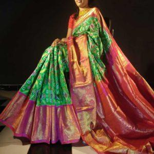 Kanchi Border Sarees -Exclusive Collection #17
