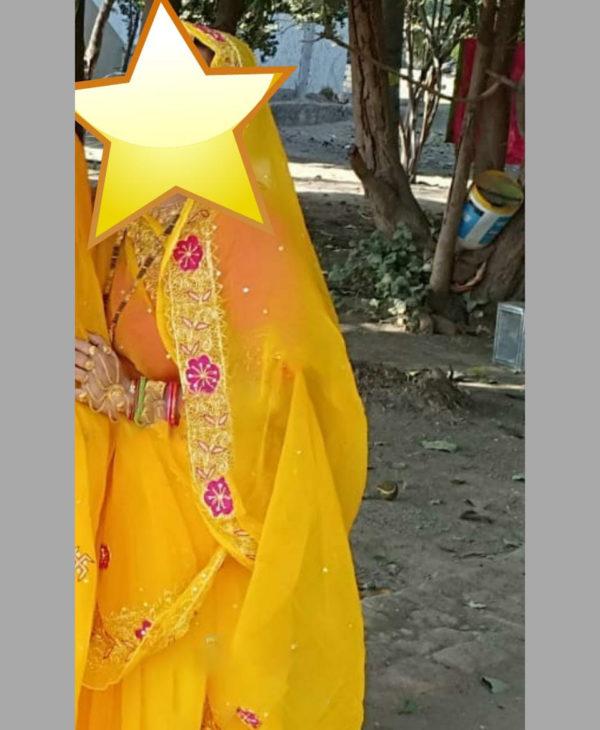 Chiffon Kasab Work Saree