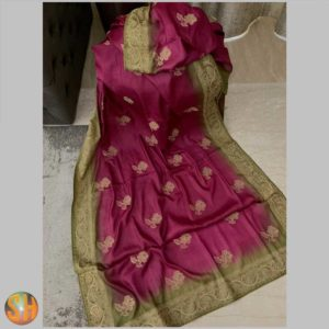 Tussar with embroidery exclusive collection #4
