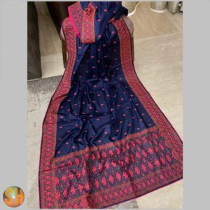 Tussar with embroidery exclusive collection #2