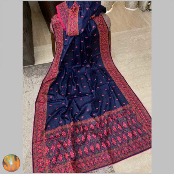 Pure kani silk sarees