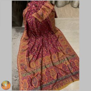 Pure Kani Silk Sarees – Tussar with Embroidery #18
