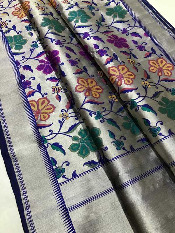 Banaras handloom katan Silk kimkhab Sarees
