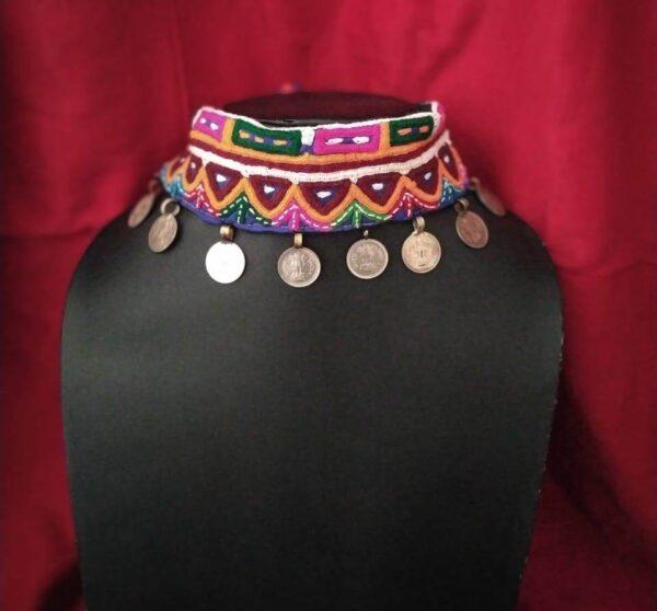 Gujrati chokker jewelry