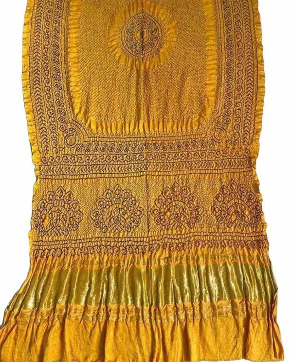 Gaji silk Rai Bharti Bandhej (1)