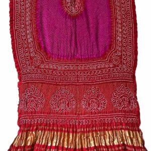Pure Gaji Silk Rai Bharti Bandhej (#2)