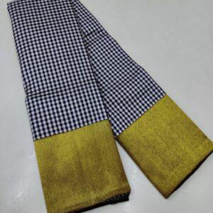 Pure Kanchipuram Silk Sarees Handwoven with 2 g Pure Jari work