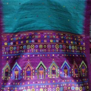Sambalpuri Handloom Ikkat Saree (#2)