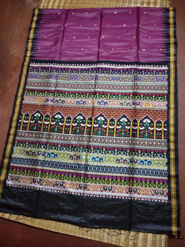 Sambalpuri Handloom Ikkat Saree