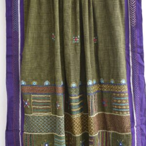 Patted Anchu Cotton Saree (#15)