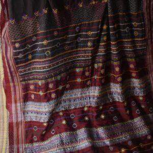 Patted Anchu Cotton Saree (#16)