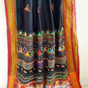Patted Anchu Cotton Saree (#10)
