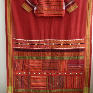 Patted Anchu Cotton Saree (#13)